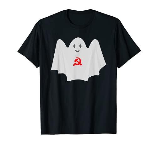 共産主義の亡霊 反資本主義共産主義社会主義者 Tシャツ