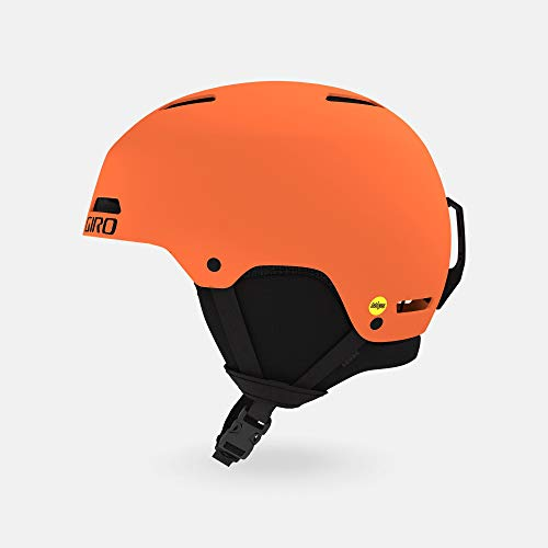 Giro Ledge MIPS Snow Helmet - Matte Deep Orange - Size L (59-62.5cm)