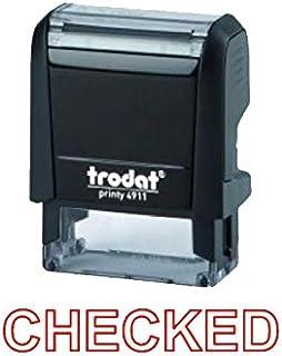 Trodat Printy 4911 Stamp CHECKED