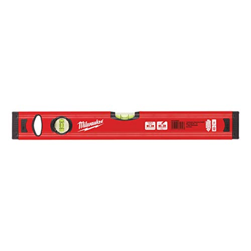 Milwaukee 4932459090 40 cm/16 Zoll redstick Slim Level – Rot/Schwarz