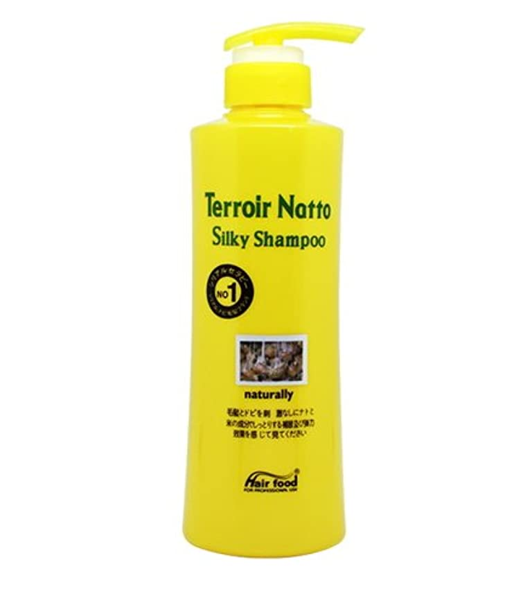 グッゲンハイム美術館職業退化する[MEDICIJAPAN/メディシュジャパン] Hair Food Terroir Natto Silky Shampoo 500ml/ ヘアフードテロワール納豆シルキーシャンプー(海外直送品)