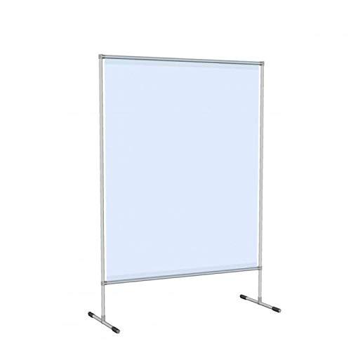 godirect24 Stellwand 140x200 cm als Schutzwand/Trennwand zwischen Personen, Angestellten, Kunden im Büro, am Schalter oder Verkaufstisch