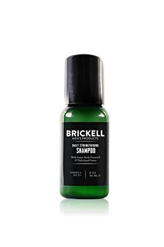 Brickell Men's Stärkendes Shampoo für Männer – 2 oz – Natürlich und Organisch