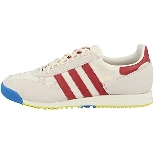 adidas Zapatillas bajas SL 80 para hombre, color Blanco, talla 44 EU