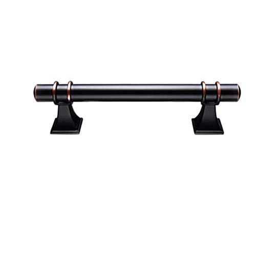 PYouo-Manijas de Armario Negro maneja, manijas de Muebles de Caja, Armario Tira de él, manijas de aleación de Zinc, Cocina de la manija, Hardware de los Muebles Hardware del gabinete