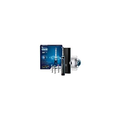 Oral-B Genius 9000 Elektrische Zahnbürste mit Positionserkennungstechnologie, schwarz