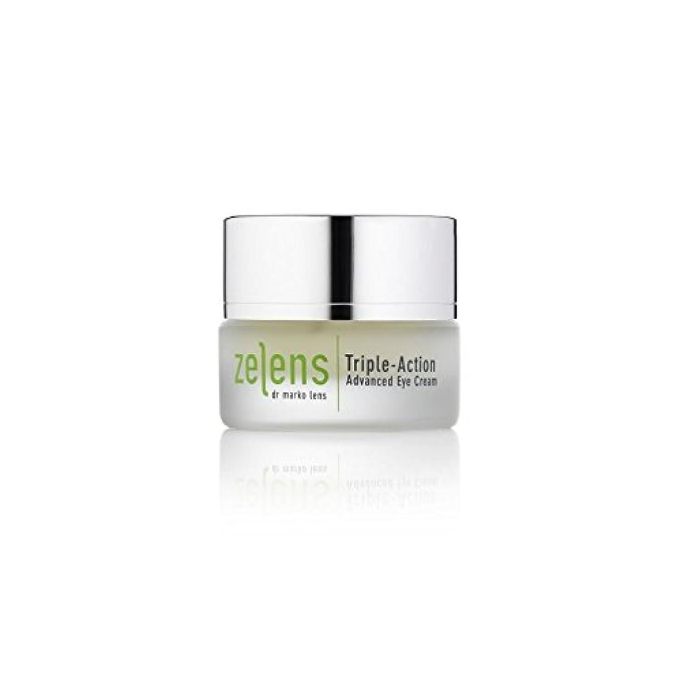 活性化複合征服するTriple Action Advanced Eye Cream (Pack of 6) - トリプルアクション高度なアイクリーム x6 [並行輸入品]