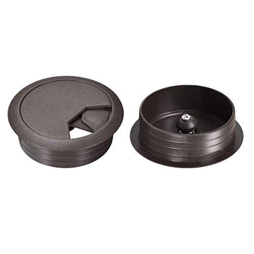 YeVhear - Tapa para agujeros de cable de 2 pulgadas para organizador...