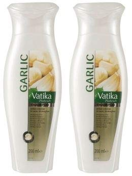 Vatika Naturals Knoflook Garlic Shampoo 200 ml 2 x 200ml