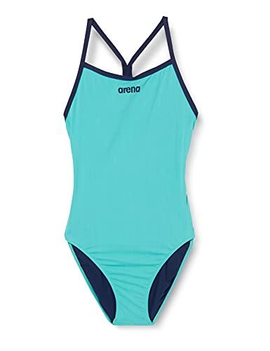 ARENA Damen Sport Badeanzug Solid Light Tech High