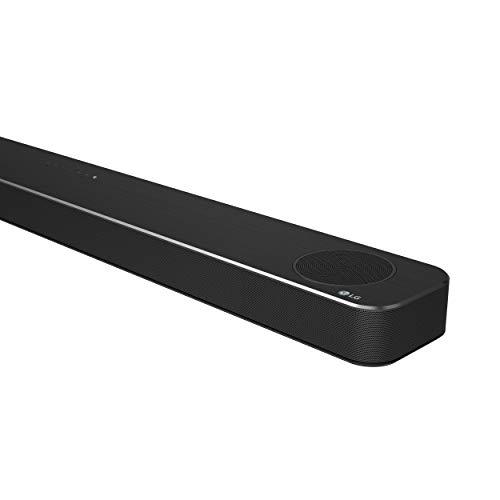 LG SN8YG - Barra de Sonido Hi-Res con Dolby Atmos (24 bits/192 kHz, 440 W de Potencia, Asistente de Google, Chromecast Integrado, subwoofer inalámbrico, WiFi y Bluetooth con tecnología Meridian)