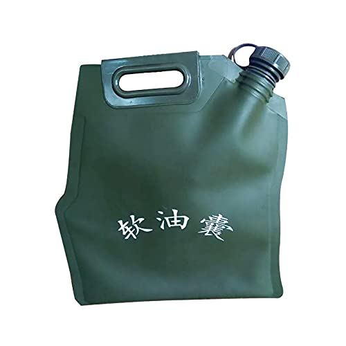 GAYBJ Benzina Can. Borsa del Contenitore dell'Acqua del combustibile del combustibile del Carburante del gasolio della vescica di Olio Portatile Manica combustibile Facile da Piegare,20L