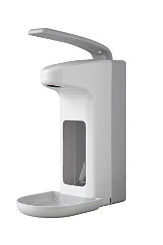 Temdex Spender Kunststoff Desinfektionsmittel mit Schale und Seife