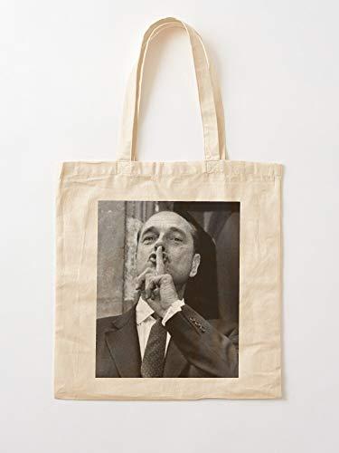 Générique Swag France Chirac French Jacques President | Einkaufstaschen aus Leinen mit Griffen, Einkaufstaschen aus nachhaltiger Baumwolle