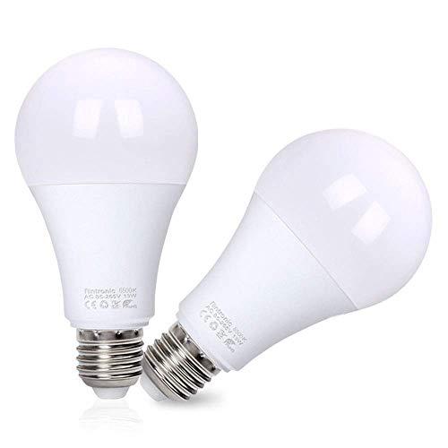 flintronic LED Lampe mit Lichtsensor und Dämmerungssensor, E27 Smart licht Radarsensor 13W 3000k Energiesparlampe mit Selbstschalter für Treppen Haustür Garten Balkon Garage