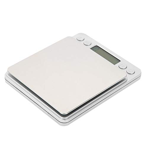 Omabeta Novedades Básculas de Cocina Básculas de Cocina Medición para Hornear Básculas electrónicas Hogar Duradero electrónico(2kg/0.1g)