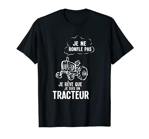 Homme Drôle Cadeau Agriculteur & Tracteur T-Shirt