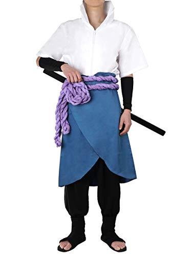 CoolChange Costume Cosplay de Sasuke Uchiwa après entraînement chez Orochimaru | Taille: XL