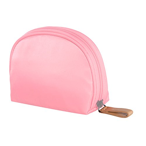 MZP Simple forfait d'admission sac cosmétique Voyage portable multi-couleur rouge à lèvres cosmétiques mini petit sac portables cosmétiques dame , pink