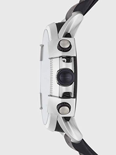 Diesel Homme Écran Tactile Digital Montre Connectée avec Bracelet en Cuir DZT2008