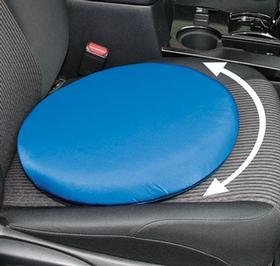 Trenton Gifts Portable Lightweight Swivel Seat Cushion | 360 Degree Rotation | Supports up to 300 Lbs |Blue