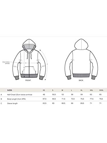 Zipper Hoodie aus Bio-Baumwolle - 4