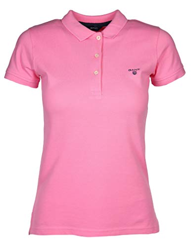 GANT Damen Poloshirt Größe XS Pink (pink)