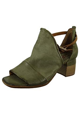 A.S. 98 Damen Leder Sandalette Veracruz Africa Grau A19002-0101-0002, Groesse:37 EU
