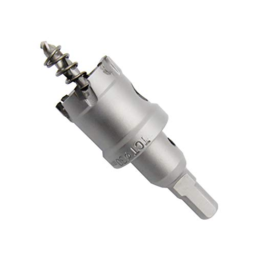 Sierra de agujero bi-metal T.C.T carburo resistente LAIWEI de grado industrial cortador de agujeros de acero inoxidable (1-3/16'30mm)