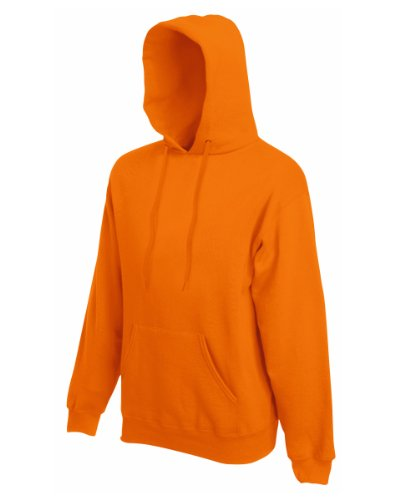 Fruit of the Loom - Sweat-shirt - Homme - Orange - Orange - petit