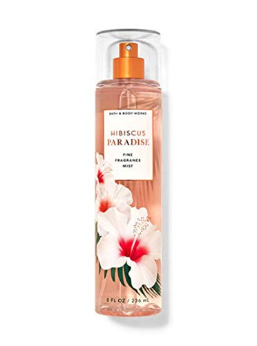 Bath and Body Works Hibiscus Paradise Fine Fragrance Mist 8 Ounce Full Size