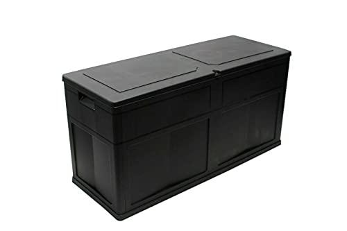 Posten Anker Premium XXL I 320 Liter Volumen I Auflagenbox I Gartenauflagen I Auflagen Garten Box I Gartenbox I Kissenbox I Gartentruhe