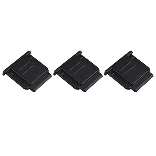 Futheda FA-SHC1M Blitzschuhabdeckung, Ersatz für A6100 A6600 A7RIV A7III A6500 A6400 A6300 A6000 A77II A7II A7RIII A7SII A99II RX1RII RX10II RX100II DSLR-Kameras, 3 Stück