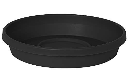 Bloem STT2400 Terra Saucer, 17.5', Black
