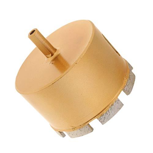 Gesh Broca para sierra de corona de diamante, cerámica, cristal, pizarra, porcelana, mármol, oro, 80 mm