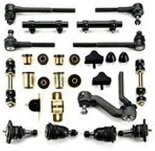 Andersen Restorations Black Polyurethane Front End Suspension Master Rebuild Kit Compatible with Chevrolet Chevy II Nova