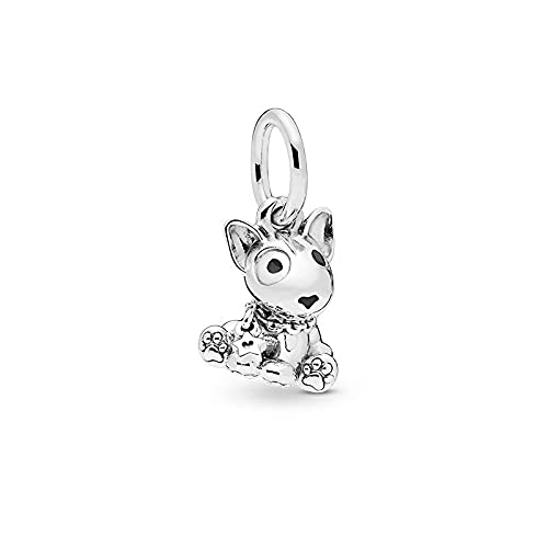 LISHOU Mujer Pandora S925 Colgante De Plata Esterlina Animal Pet Series Colgante Charms Bead Fashion Girl Pulseras Collares DIY Jewelry Making Gift