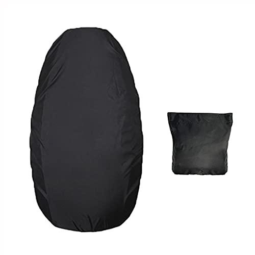 Funda para asiento de moto, tela Oxford 210D, universal, resistente al polvo, protección solar flexible, funda impermeable para motocicleta (XL: 98 x 65 cm máx.)