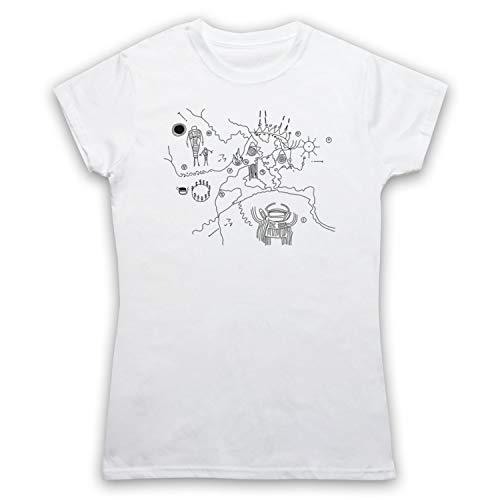 Mijn icoon kunst & kleding pieken uil grot kaart lynch cult tv show Womens T-Shirt