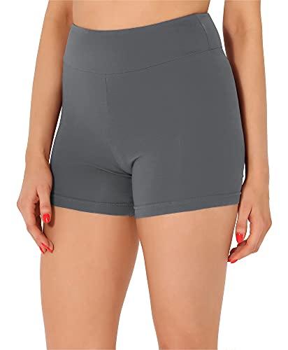 Merry Style Pantalones Cortos Mujer MS10-359 (Gris, XXL)
