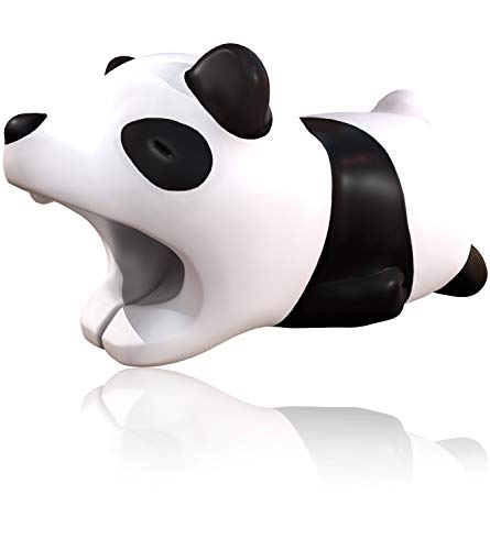 innoGadgets Cable bite Panda Cable Protection Animal | Cute Cable Protectors Made of PVC | Protect Your Charging Cable from Wearing Out | 27 Different Cable Animals