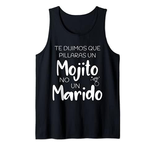 Mojito No Marido   Despedida de Soltera Regalo Camiseta sin Mangas