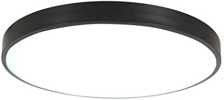 CZZ Moderne quadratische 5cm super dünne LED-Lampe, feuchtigkeitsBestendige Deckenleuchte Badezimmer Küche Wohnzimmer Esszimmer Duschbad Schlafzimmer Balkon Flur