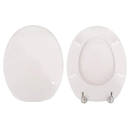 Copriwater LEI GLOBO compatibile laccato bianco lucido poliestere
