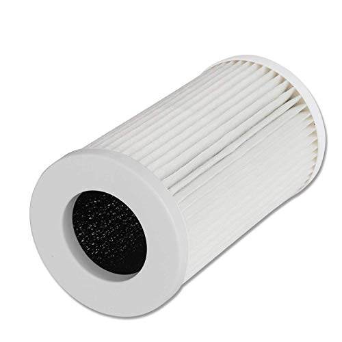 QUEENTY True HEPA Filter - Air Purifier Replacement Filter Odour Allergies Eliminator for Smoke, Dust, Mold, Home, Office and Pets