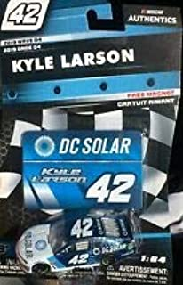 NASCAR Authentics Kyle Larson #42 Diecast Car 1/64 Scale - 2019 Wave 4 - with Free Magnet - Collectible