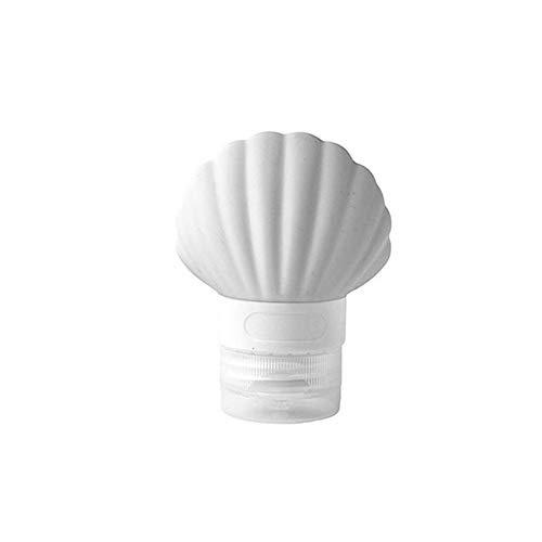 1Pc Commodité Shell Sous-Bouteille De Toilette Sous Bouteille De Shampoing Douche Voyage Gel De Silice Stockage Bouteille Mignon,Gris