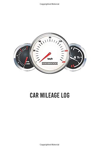 car mileage log: 100 page for record vehicle auto mileage logbook car usages tracker auto journal notebook log book for car expense taxes or business size 6x9 inches (vol:2)
