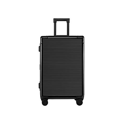 Leepesx Equipaje rígido de aleación de Aluminio de 20 Pulgadas Equipaje Ligero Estuche de Trolley a Prueba de Golpes Maleta con Ruedas giratorias TSA-Lock para Viajes