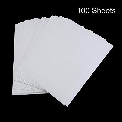 Peanutaoc 100 STKS A4 Sublimatie Print Papier Voor Polyester Katoen T-Shirt Iron On Transfer Papier Warmtedruk Transfer Accessoires